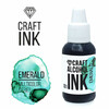 Craft Alcohol Ink  Emerald